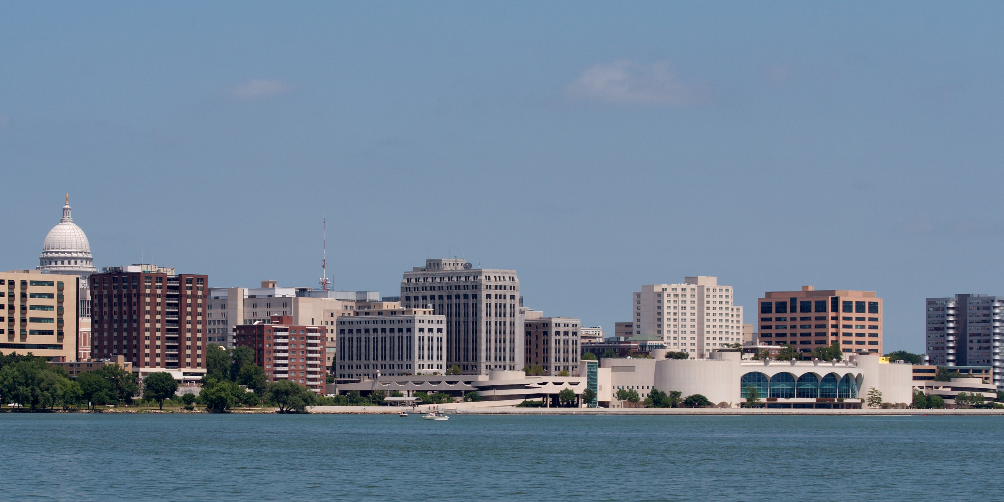 Image of Madison Capitol and Monona Terrace